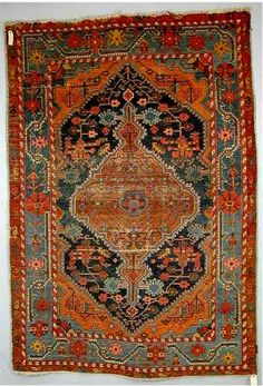 Hamadan village rug, Jozan or Tuisarkhan, Northwest Persia about 1900, 6ft.2in. x 4ft.4in. 1.88m. x 1.32m.