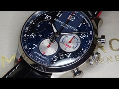 Baume & Mercier presenting the new Capeland Shelby® Cobra watch - YouTube