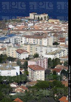 Sete, Francia, visto desde el Monte Saint Clair