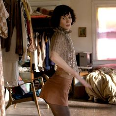 'The Future'. Strange and beautiful film written, directed by and starring Miranda July. I would say it's about ageing, love, self belief, anxiousness about the future, the internet... oh and an injured cat, that talks, called Paw Paw. Creepy and funny and poetic.... you've been warned.