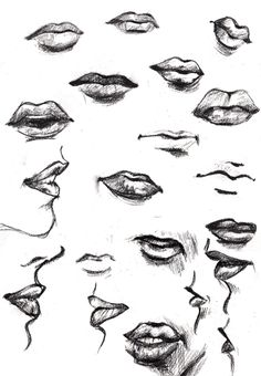 lips drawing - Buscar con Google
