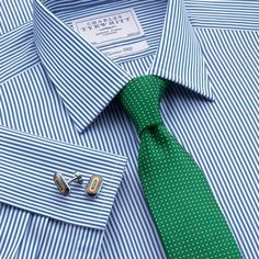 Charles Tyrwhitt double (French) cuff dress shirts, great quality and great value with frequently good sales.
