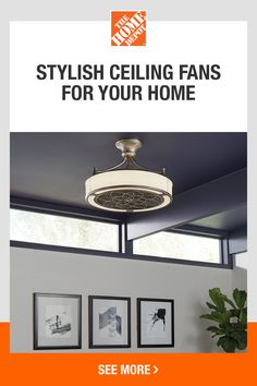 Home Improvement Projects, Home Projects, Beach House Decor, Diy Home Decor, Moore House, Best Ceiling Fans, Home Upgrades, Modern Interior Design, Home Lighting