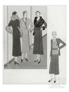 Vogue - August 1931  By: Polly Tigue Francis
