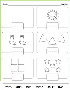 put the numbers in the correct place.worksheet