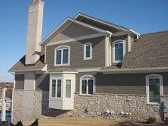 Color of Vertical Fiber Cement Siding | Hardie Board Fiber Cement Siding, Exterior Siding Solutions