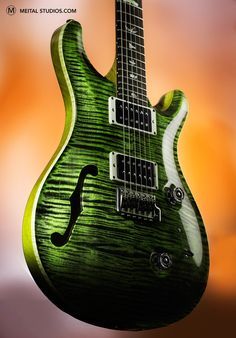This time green. Electric Guitar. Instruments Photography. 1.403.397.4770 Calgary AB Canada  More images here  http://meitalstudios.com/calgary-product-photographer/   Follow me on FB https://www.facebook.com/topproductphotography?ref=hl  #instruments   #electric   #guitar   #music   #musical   #photographers   #photographersongoogle+   #Calgary   #alberta   #canada   #studiophotography   #studio   #creative   #player   #cool   #band   #profoto   #canon   #quality   #green