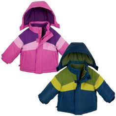 Kids 3-in-1 Snow Jacket: Great idea for all kinds of weather !