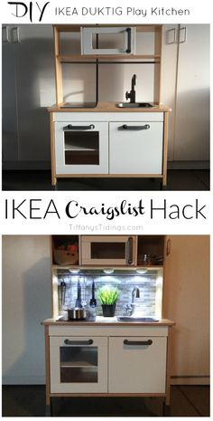 IKEA DUKTIG Craigslist HACK!! | Tiffany's Tidings