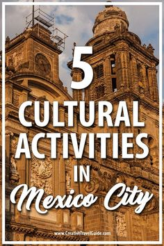 Mexico City offers some incredible things to do and these are 5 cultural activities in Mexico City, you do not want to miss! Mexico Vacation, Italy Vacation, Mexico Travel, Cabo San Lucas, Puerto Vallarta, Cozumel, Tulum, Bora Bora, Places To Travel