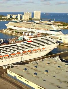 Port Everglades, the Fort Lauderdale cruise ship port
