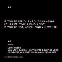 Book of the week 'You are a Badass: How to Stop Doubting Your Greatness and Start Living an Awesome Life' by Jen Sincero #book #quote #wisdom #inspiration #girlboss