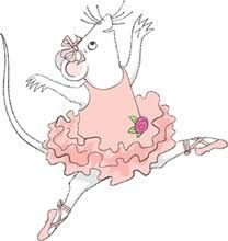 Angelina Ballerina, voice by Finty Williams, daughter of Dame Judi Dench. Dench voices the character Miss Lilly, Angelina's ballet teacher.