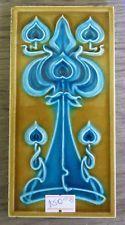 """Original  English  Art Nouveau tile , c1905/6 3""""x6""""Tile 1035"""