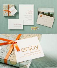 travel themed stationery, so cute! #travel #stationery #invitations #wedding http://www.betsywhite.com/lookbook.html