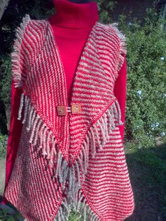 Loom Weaving, Loom Knitting, Crochet Shawl, Scarves, Cover Up, Sweaters, Cardigans, Jackets, Ganchillo Ideas