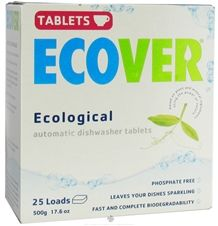 I've tried about 10 kinds of natural dishwasher detergent. These tablets are the best I've found. The glasses could use a little help from a rinse aid, but I'm too cheap to buy one.