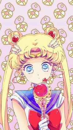 Imagem de sailor moon, anime, and background Sailor Moons, Sailor Moon Manga, Sailor Moon Crystal, Sailor Moon Fond, Arte Sailor Moon, Sailor Venus, Manga Anime, Anime Art, Princesa Serena