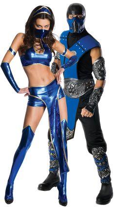 Mortal Kombat Sub Zero Costume  Kitana: Jesse  I will DEFF have this!!!