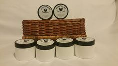 Adirondacks Beard Balm 2oz -Alcohol-Free and conditioner tea tree oil scent. #Adirondacks