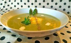 Innamorarsi in cucina: Crema di asparagi verdi al mango