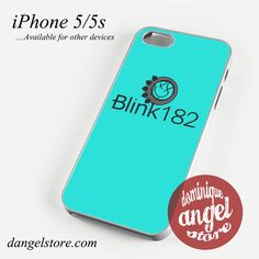 Blink 182 Logo 5 Phone case for iPhone 4/4s/5/5c/5s/6/6 plus