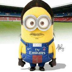 Dit is Zlatan Ibrahimovic, hij voetbalt bij PSG Minions Images, Funny Minion Pictures, Minions Quotes, Pumas, Cristiano Ronaldo, Real Madrid, Paris Saint Germain Fc, Messi Vs, Football Art