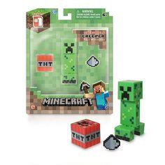 Minecraft - Figure with Accessories - Overworld Creeper