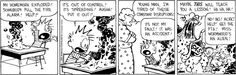 Calvin and Hobbes comic for Mar/11/14