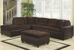 DealBeds.com - Coaster Home Furnishings Casual Sectional Sofa in Chocolate, $690.15 (https://www.dealbeds.com/coaster-home-furnishings-casual-sectional-sofa-in-chocolate/)