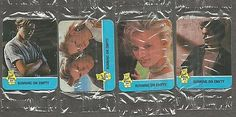 "1988 Hostess Hot Summer Flicks, ""Running On Empty"" Set of River Phoenix. River Phoneix, Empty Set, Old And New, Phoenix, Running, Baseball Cards, Hot, Summer, Summer Time"