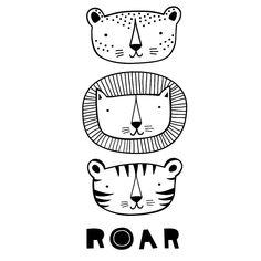 a little lovely company | roar poster