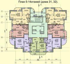 454 High Building, Building Layout, Building Design, Hotel Floor Plan, Luxury Floor Plans, Dream House Plans, House Floor Plans, Residential Building Plan, Architectural Floor Plans