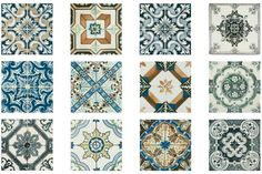 Eastern Patchwork Tiles are suitable for bathroom, kitchen, floor and wall tiling. Shop Tons of Tiles range today for next day UK delivery. Kitchen Wall Tiles, Bathroom Floor Tiles, Wall And Floor Tiles, Kitchen Board, Kitchen Stuff, Patchwork Kitchen, Patchwork Tiles, Patterned Wall Tiles, Decorative Wall Tiles