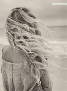 Beachy waves #hair #hairstyle
