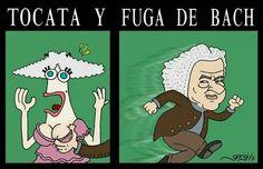 Tocata y Fuga Bach