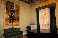 Retrato del Marqués de Vista bella. Se encuentra en este lugar. La Comunidad restaura la Escuela Superior de Canto ubicada en el Palacio de Bauer | Revista de Arte - Logopress