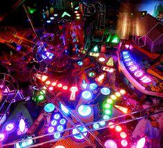 pinball machine inside - Google Search