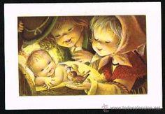 TARJETA FELICITACION NAVIDAD NUEVA FERRANDIZ COLECCIONISTA (Postales - Navidad)