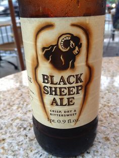 Black sheep ale from Yorkshire