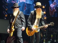 The two and only ZZ Top (plus a drummer, of course)