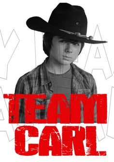 Printable DIY Team Carl from The Walking Dead by MyHeartHasEars, $5.00