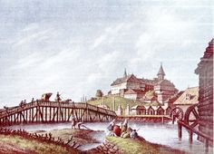 Luigi Mayer. Podul Mihai Voda.1794