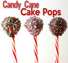 Cutest Christas Cake Pop Idea….candy canes!!!  It's completely edible, and makes for a great gift!!  Check out how they did it!