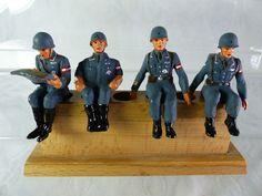 4 LW Umbau Massefiguren aufgesessen für Fahrzeuge - mimikry Tarnung - Lot14 | eBay