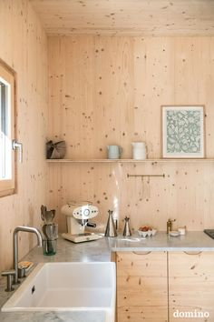 all-wood kitchen design Minimalist Home Interior, Scandinavian Interior Design, Minimalist Kitchen, Interior Design Kitchen, Kitchen Decor, Kitchen Ideas, Interior Design Inspiration, Home Decor Inspiration, Pergola