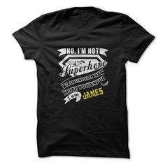 Jacob is your name or the name of your family. This is a great gift for you or your family: I am JAMES  new year ...