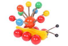 "Midcentury Pull Toy  -  9""L x 7""W x 7""H  -  OneKingsLane.com  -  ($125.00)  $75.00"