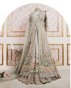Elan bridal from their champs de patchouli collection Asian Wedding Dress, Pakistani Wedding Outfits, Pakistani Bridal Dresses, Pakistani Wedding Dresses, Bridal Outfits, Indian Dresses, Indian Outfits, Anarkali Bridal, Indian Anarkali