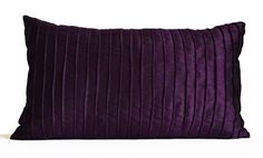 Purple Pillow Covers, Purple Decorative Pillow Dark Purple Throw Pillow Case - 20x20